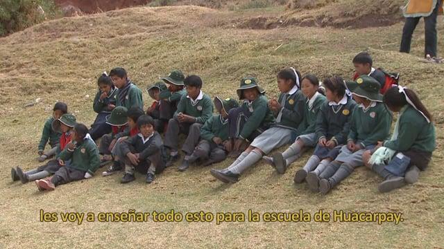 Experiencia educativa modelo en Huacarpay, Cusco, Perú
