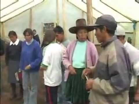 Yachachiqs en Amparaes, Lares, Cusco